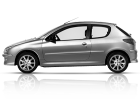 Car Rental Havana Peugeot 206