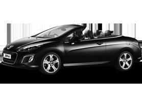 car rental havana peugeot 308 cc cabriolet rent a car havana. Black Bedroom Furniture Sets. Home Design Ideas