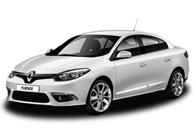Car Rental Havana Renault Fluence manual